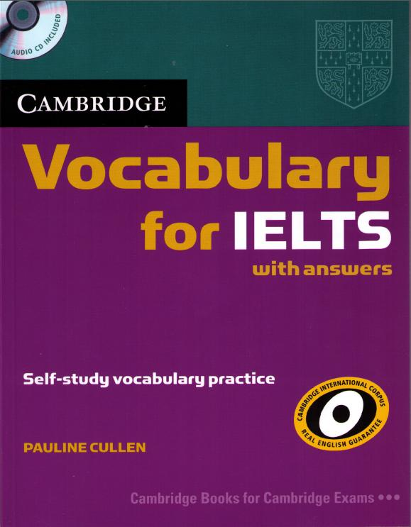 cambridge vocabuary for IELTS