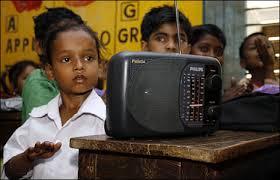 radio for improving listening