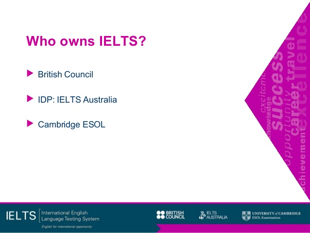 who owns ielts