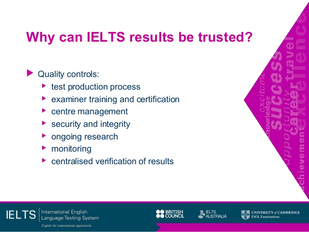 why trust ielts