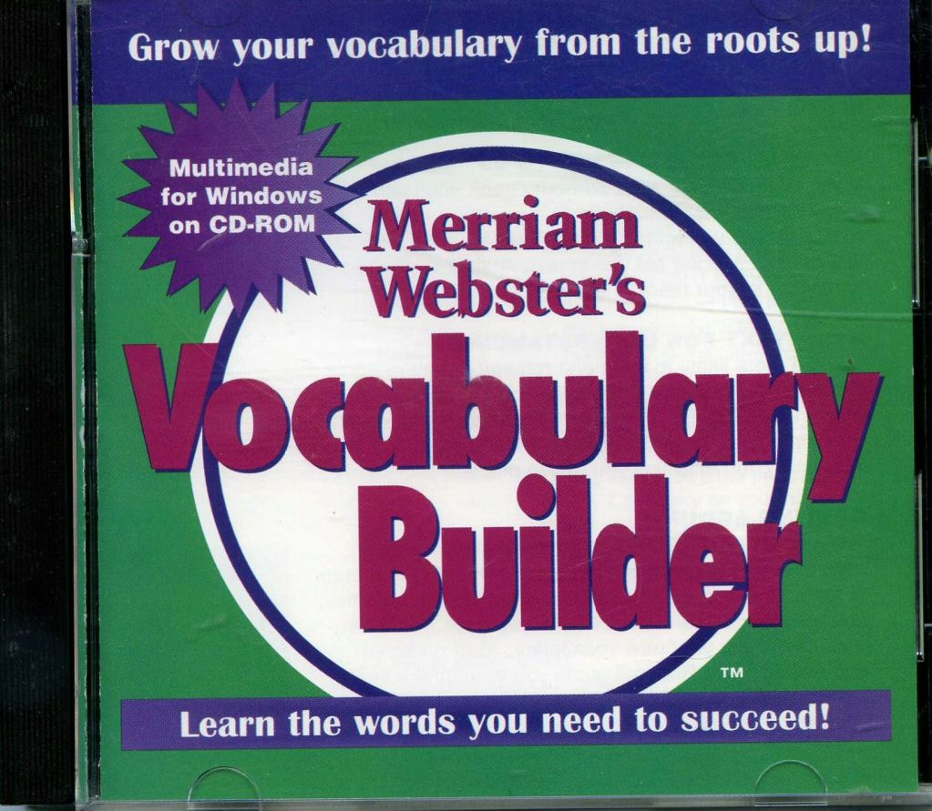 Merriam Webster Vocabulary Builder