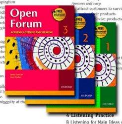 Open Forum Listening book