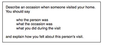 IELTS Speaking Question 2