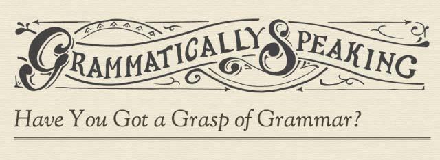 Grammar for Speaking