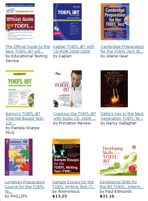 Best TOEFL ibt Sources