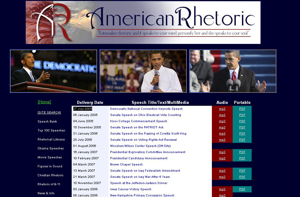 دانلود 900 سخنرانی باراک اوباما بهمراه متن نوشتاری