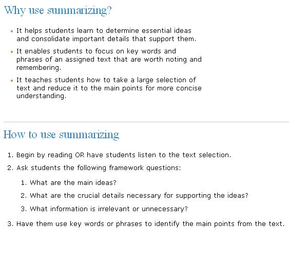 Summarizing TOEFL IELTS