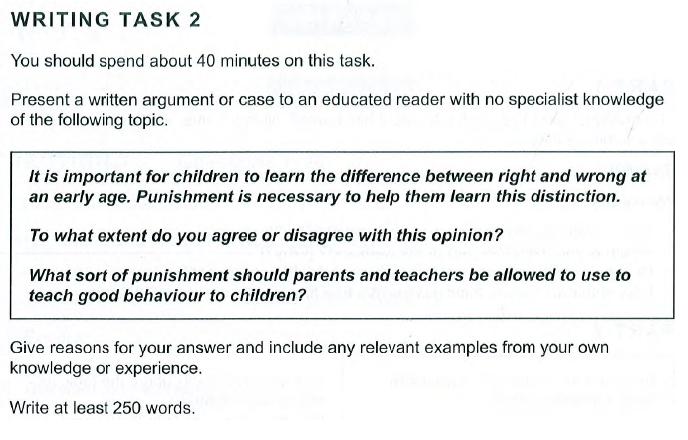 Writing Q2, Camb 10, Test 1