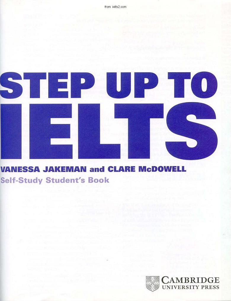 Step up to IELTS Cambridge