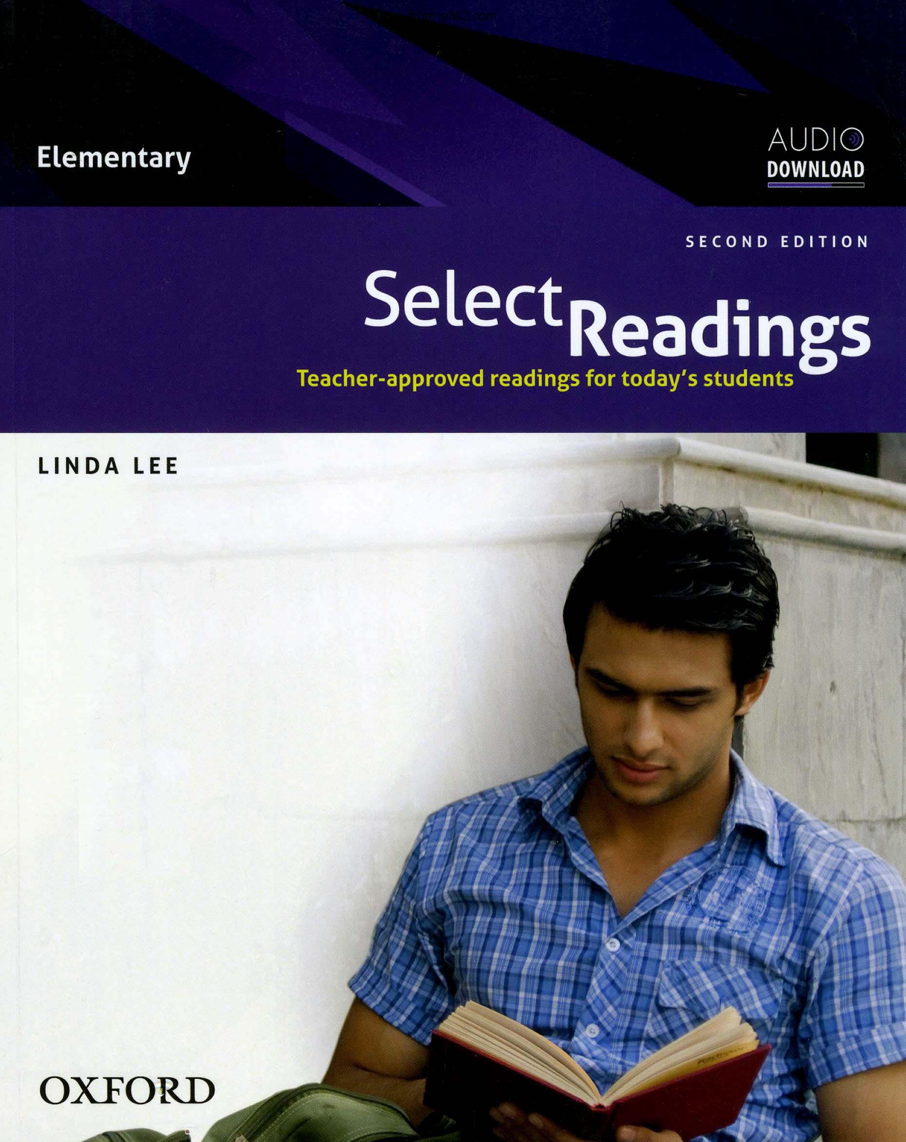 شنیدن و دانلود فایل صوتی کتاب Select Reading