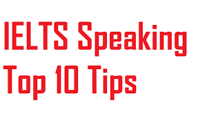 10 ielts speaing tips