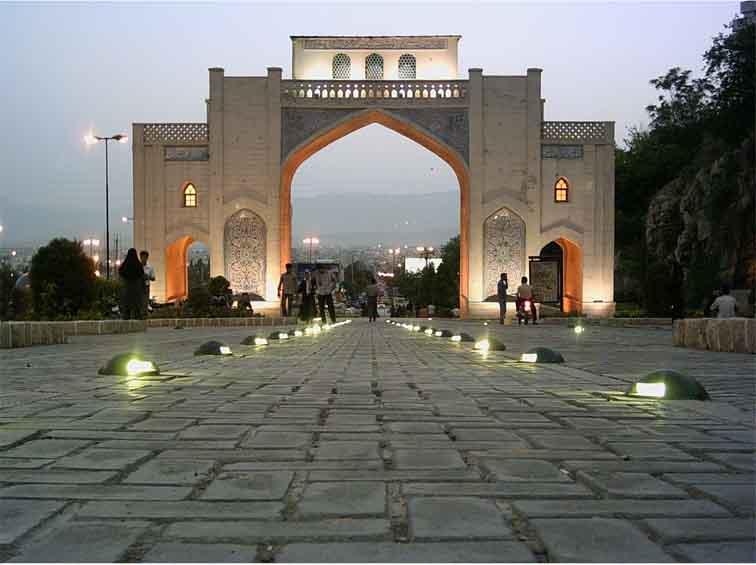 Speaking class in Shiraz