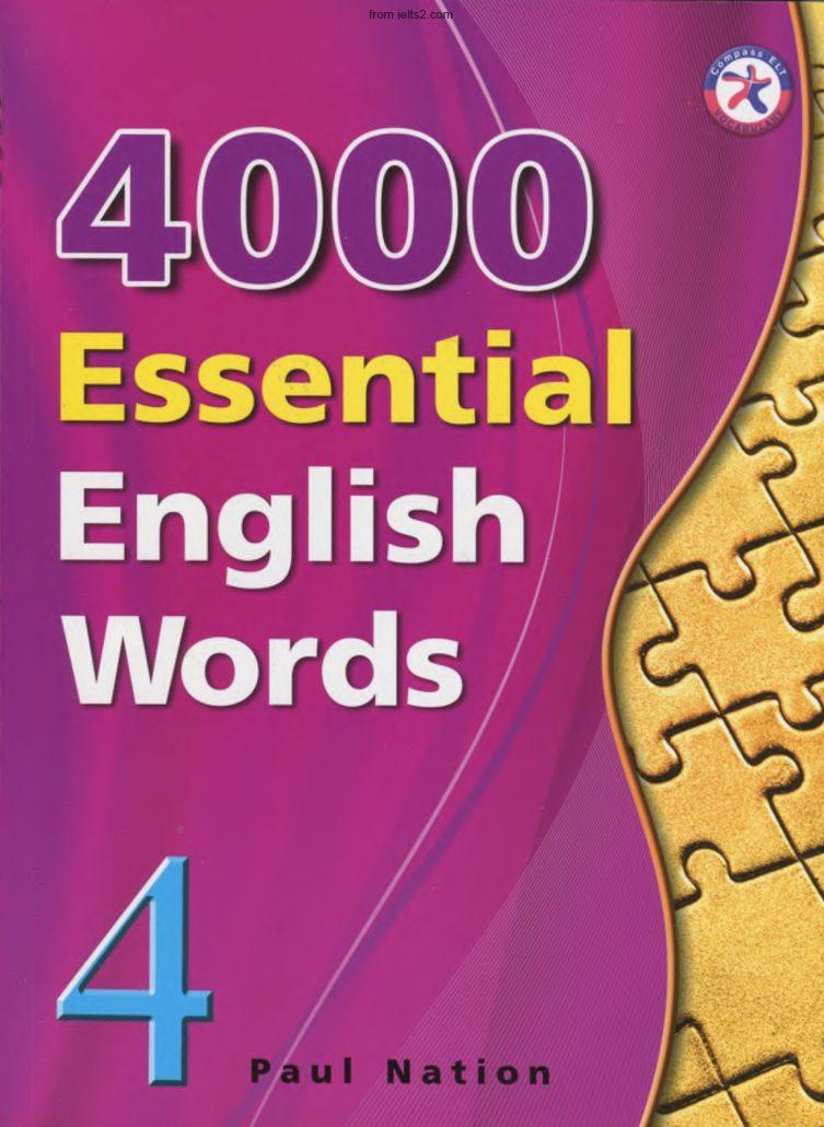 خرید اینترنتی کتاب 4000 Essential English Words