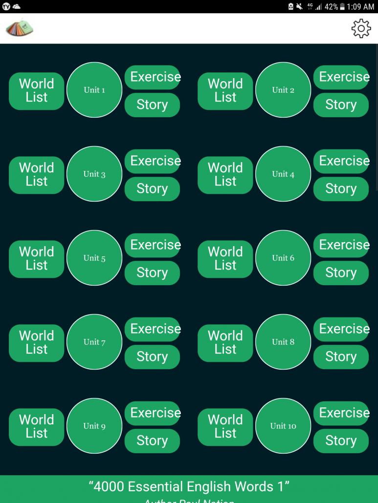 دانلود 4000 Essential English Words برای اندروید