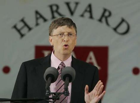 ویدئوی سخنرانی Bill Gates در دانشگاه هاروارد