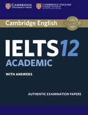 دانلود کتاب Cambridge IELTS 12 همراه فایل صوتی