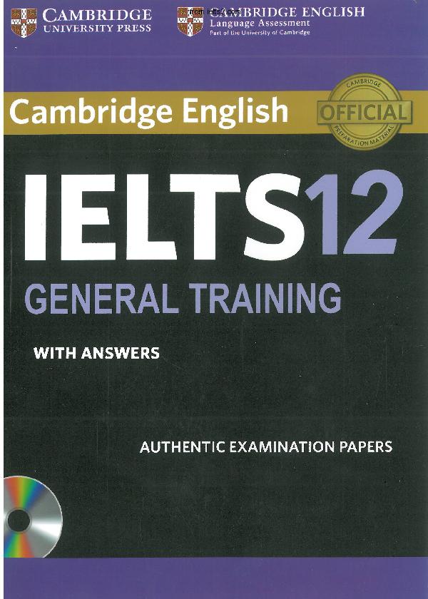 دانلود کتاب کمبریج آیلتس 12 جنرال آکادمیک