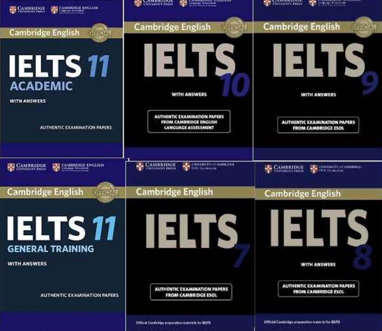 سری کامل سوالات رایتینگ آیلتس کتاب های Cambridge IELTS