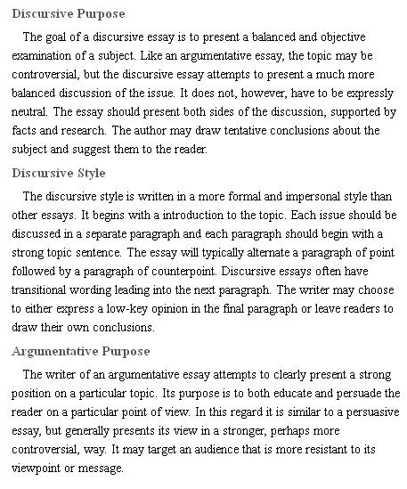 تفاوت Argumentative Essay و Discursive Essay آیلتس