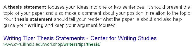 نحوه نوشتن جمله تز (Thesis) در رایتینگ آیلتس