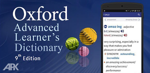 Oxford Advanced Learner's Dictionary 9th Edition اندروید دانلود