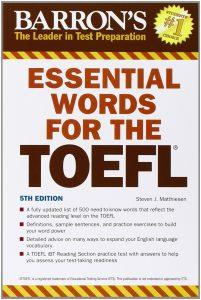 دانلود کتاب لغات ضروری تافل Essential Words for TOEFL