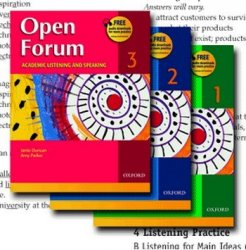 Open Forum Listening book