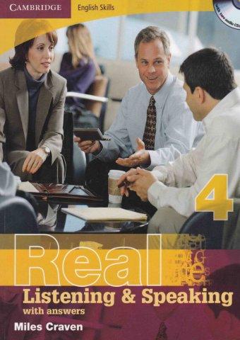دانلود جلد چهارم کتاب Real Listening and Speaking