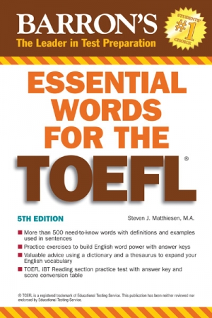 how to improve toefl vocabulary