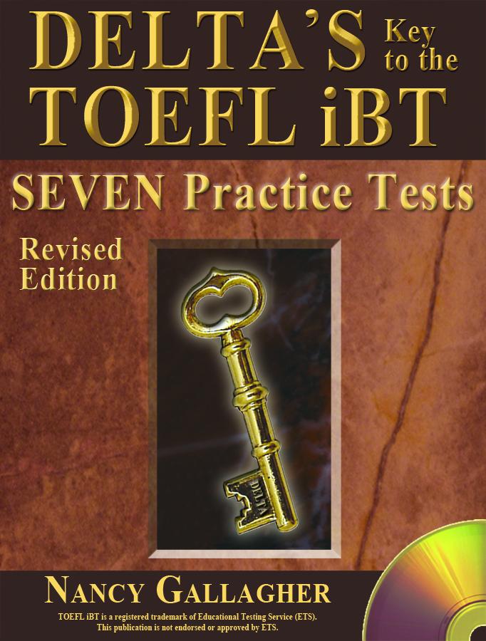 seven practice tests TOEFL