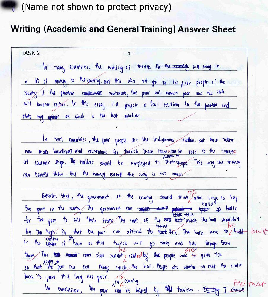 Improving IELTS Writing Tips