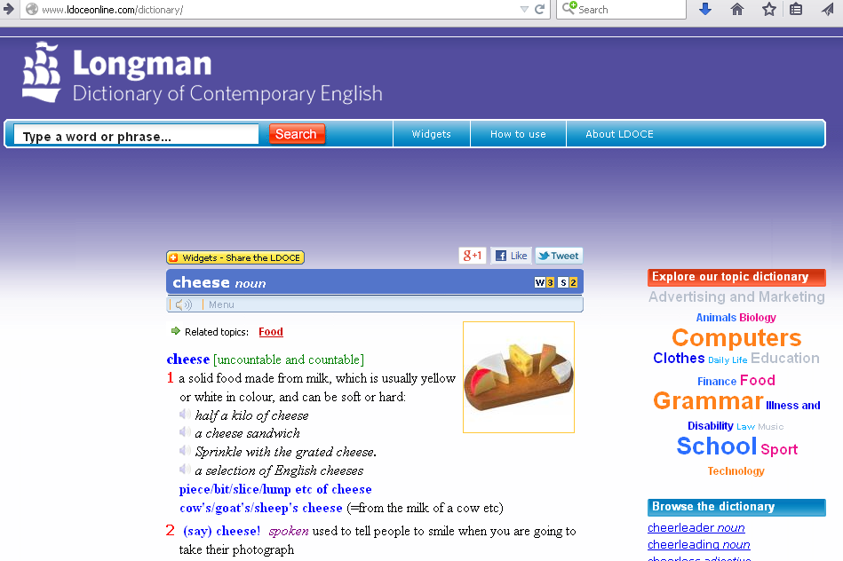 Longman contemporary Dictionary for IELTS
