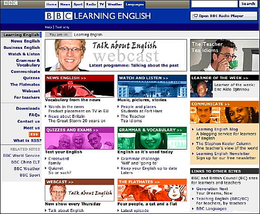 Learn English Websites