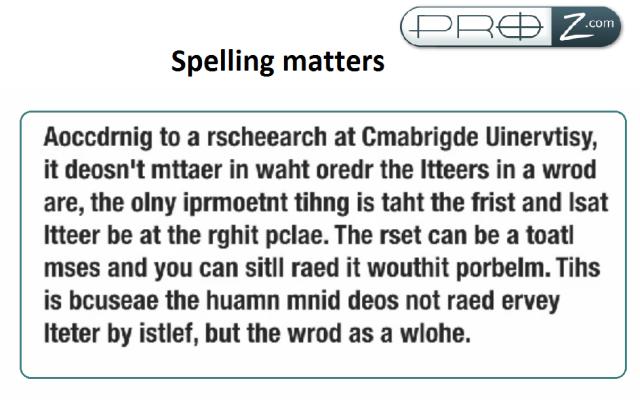 Does Spelling Matter in IELTS Listening