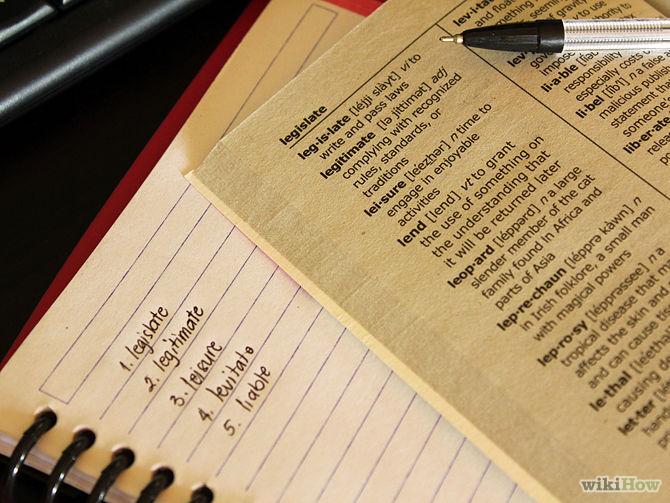 Learning IELTS TOEFL Vocaulary Methods