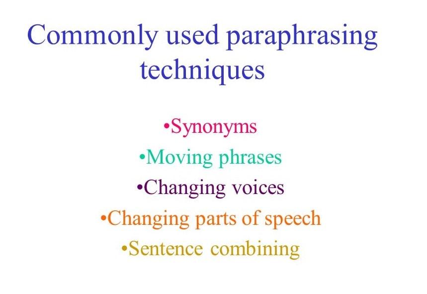 آشنایی با پارافریز Paraphrase در رایتینگ آیلتس (ویدئو)
