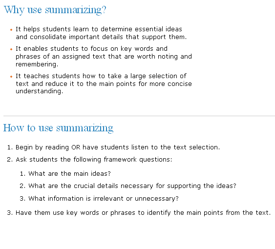 Summarizing TOEFL IELTS