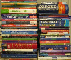بخش خرید و فروش کتاب های دست دوم آیلتس و تافل