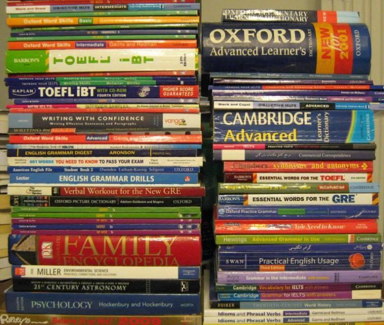 Second hand IELTS Books