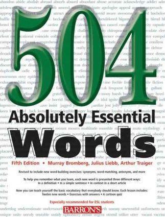 دانلود ترجمه فارسی کتاب 504 لغت ضروری انگلیسی