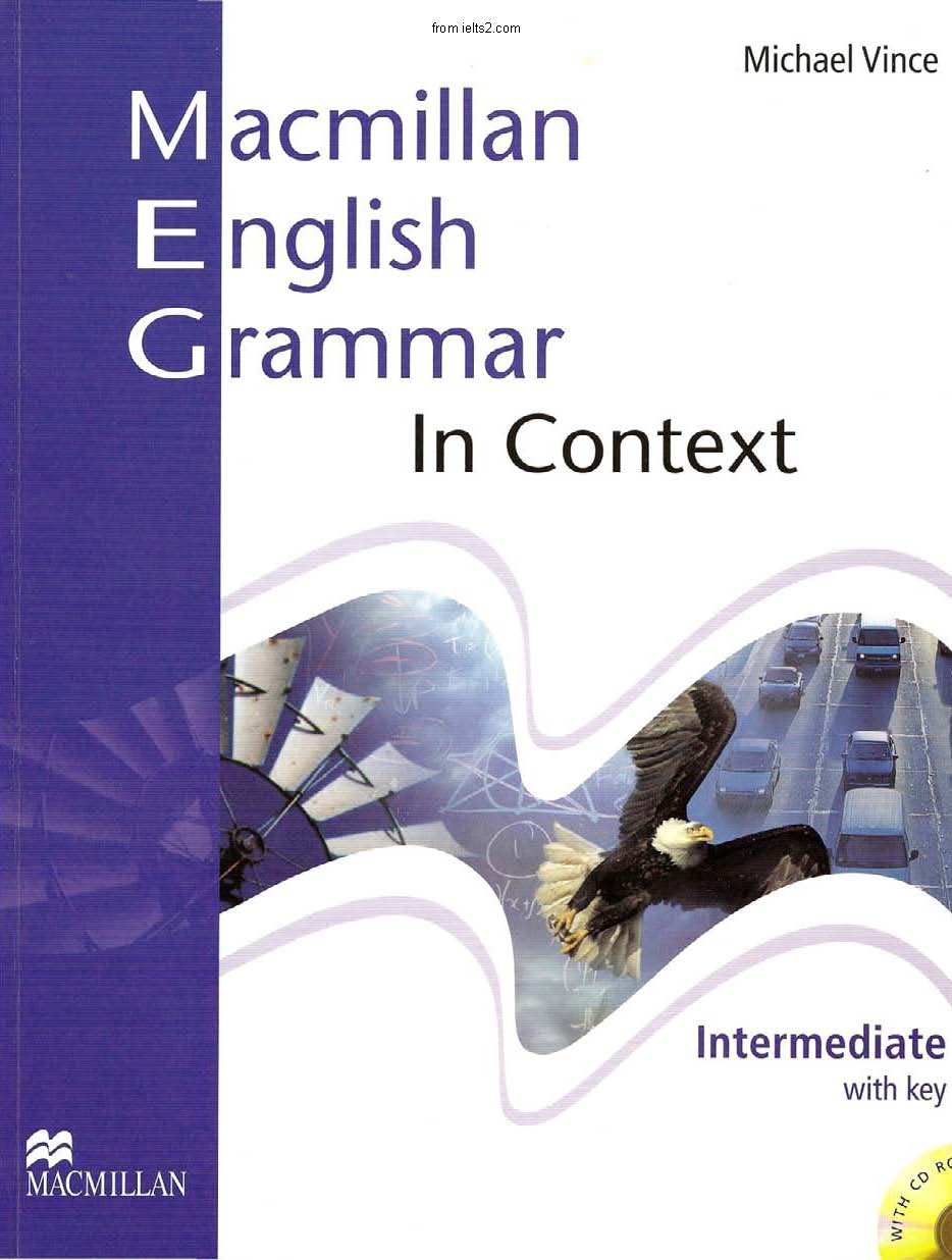 دانلود کتاب گرامر Macmilan english Grammar in Context , intermediate