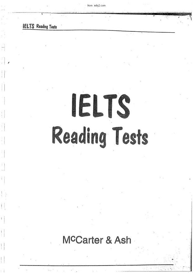IELTS Reading Tests, 10Tests--from ielts2.com
