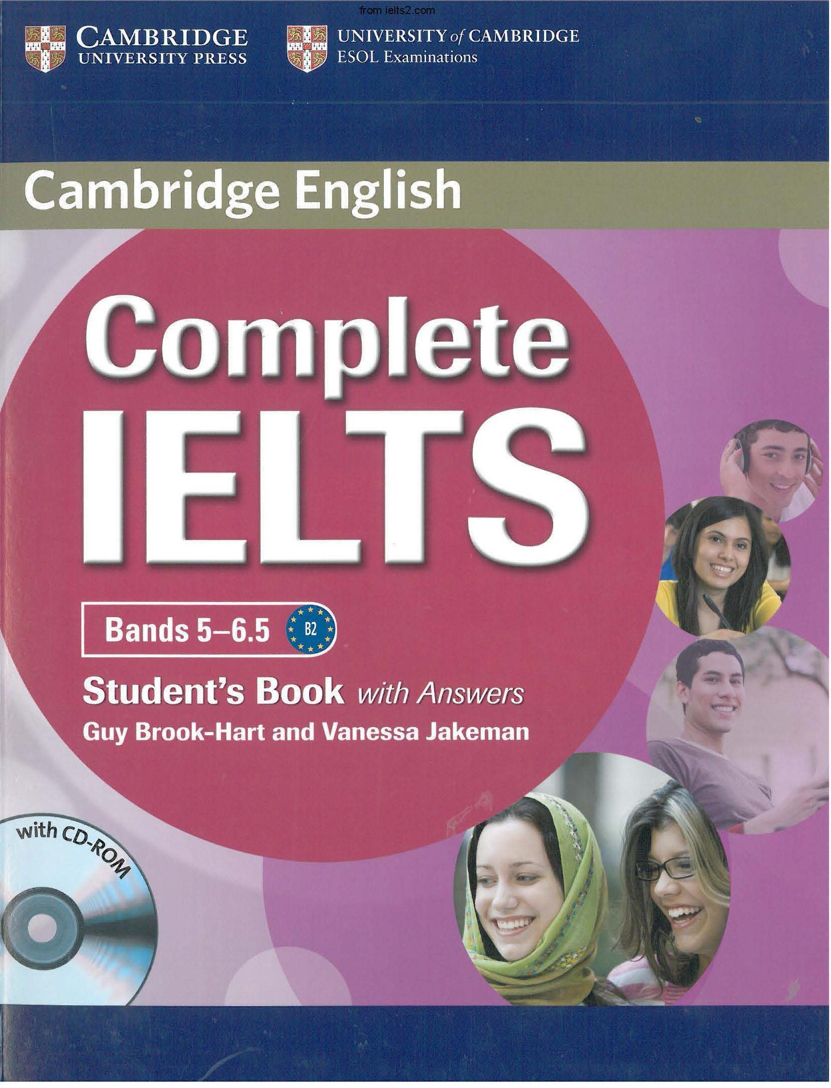 دانلود کتاب Complete IELTS Band 5 - 6.5 با کیفیت بالا
