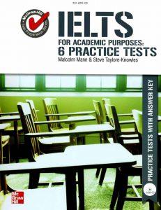 دانلود 6 آزمون آزمایشی از کتاب IELTS for Academic Purposes