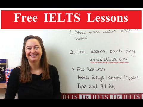 دانلود ویدئوهای آموزشی IELTS Liz