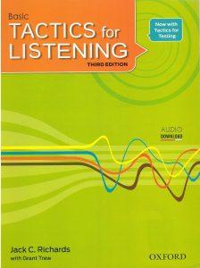 دانلود ویرایش سوم کتاب Tactics for Listening Basic
