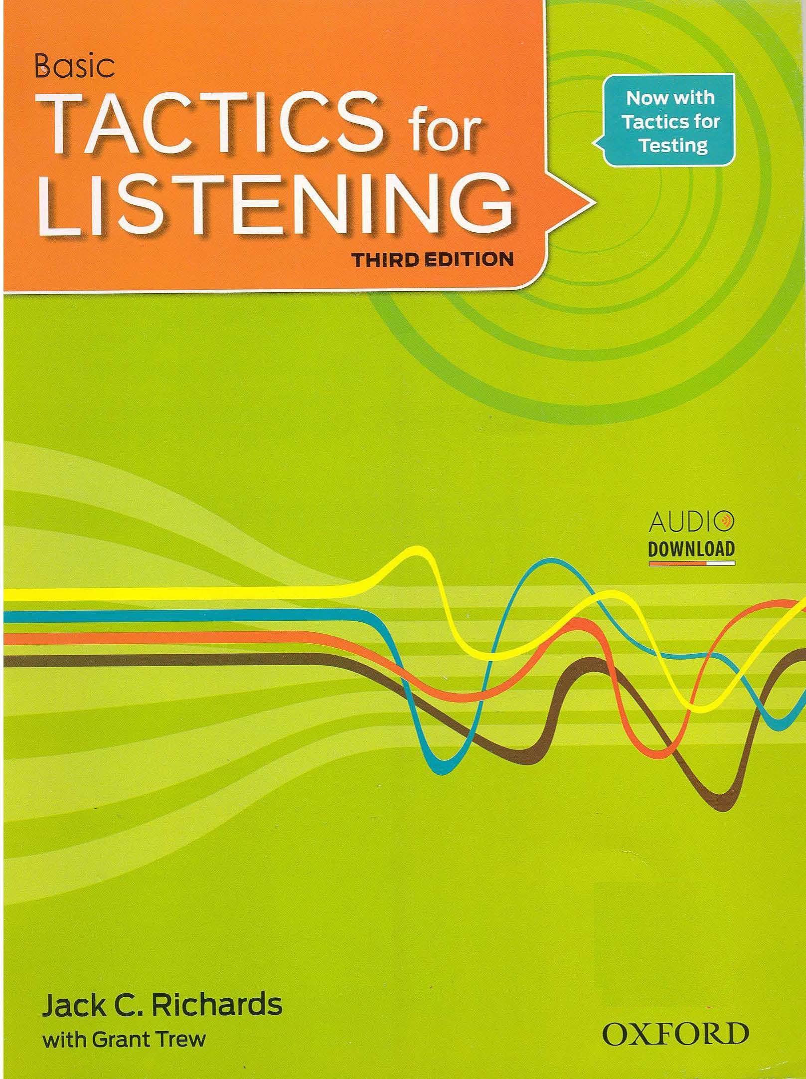 دانلود پاسخنامه کتاب Developing Tactics for Listening