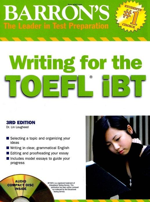 دانلود کتاب Barron's Writing for TOEFL ibt ویرایش سوم