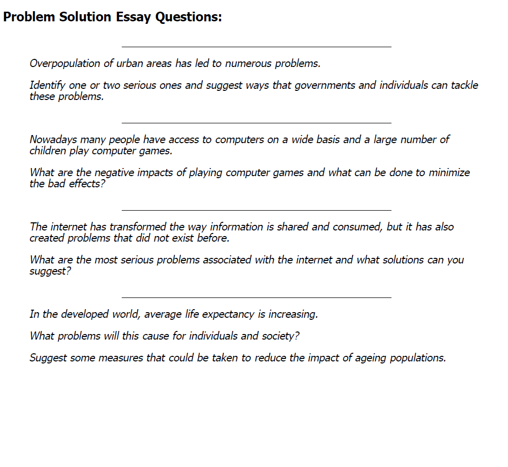 problem solution essays ielts2