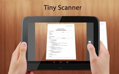 دانلود رایگان نرم افزار Tiny Scanner برای اندروید